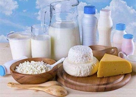 乳制品产量70年增4万倍